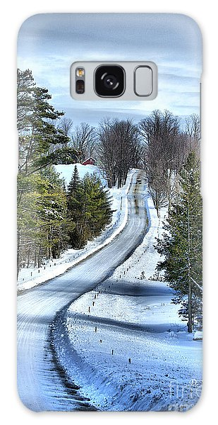 Vermont Country Landscape Galaxy Case