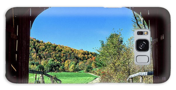 Vermont Covered Bridge Galaxy Case