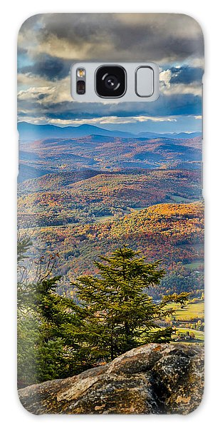Vermont Foliage From Mt. Ascutney Galaxy Case