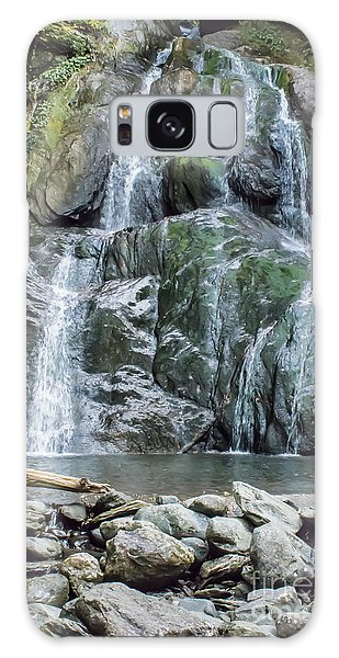 Vermont Waterfall Galaxy Case