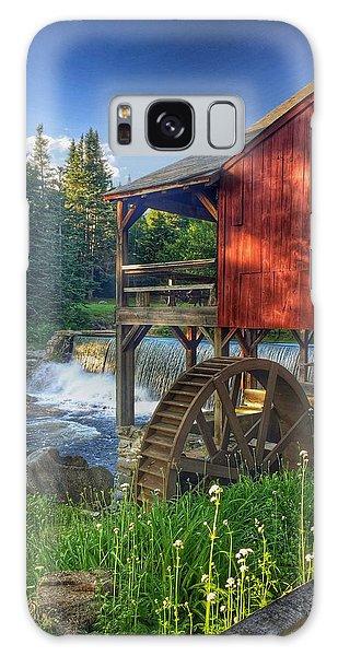 Vermont Waterfall Galaxy Case