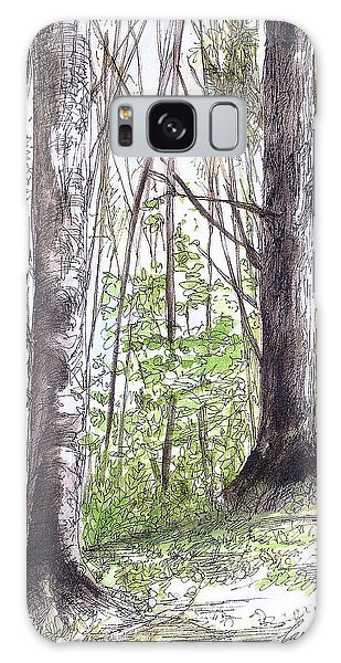 Vermont Woods Galaxy Case