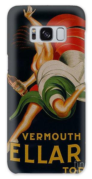 Vermouth Bellardi Torino Vintage Poster Galaxy Case