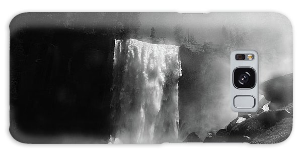 Vernal Fall And Mist Trail Galaxy Case