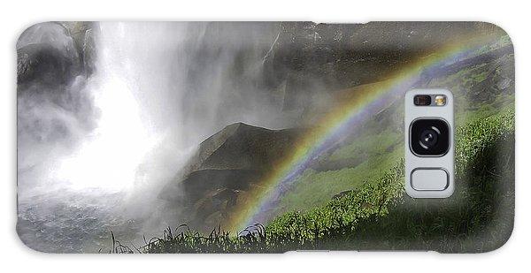 Vernal Falls And Rainbows Galaxy Case