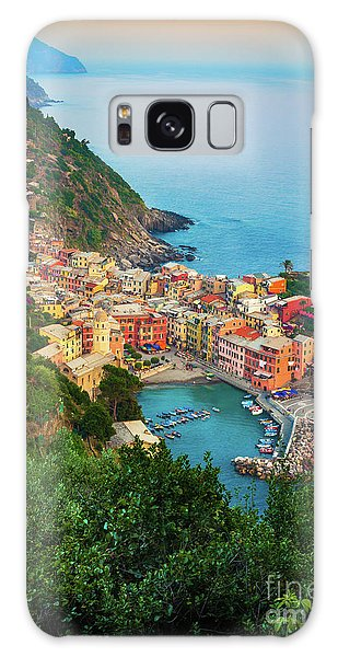 Vernazza From Above Galaxy Case