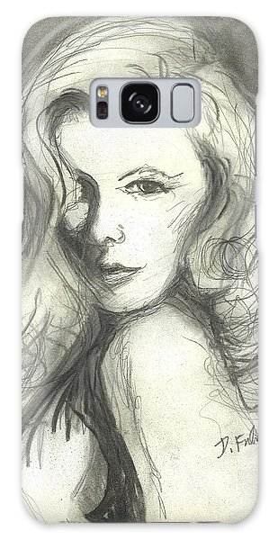 Veronica Lake Galaxy Case by Denise Fulmer