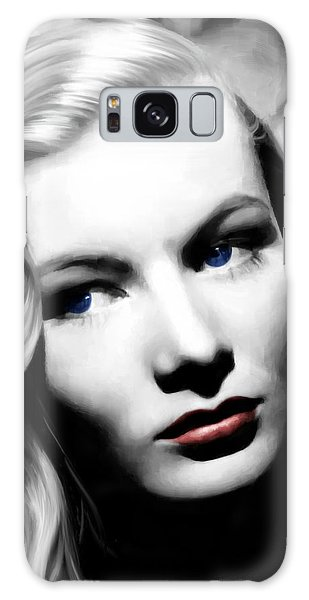 Veronica Lake Portrait #1 Galaxy Case