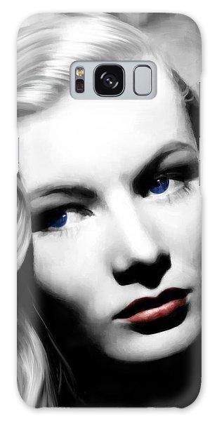 Veronica Lake Portrait #1 Galaxy Case