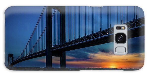 Galaxy Case featuring the photograph Verrazano Sunset by Chris Lord