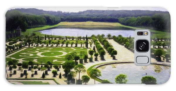 Versailles Digital Paint Galaxy Case