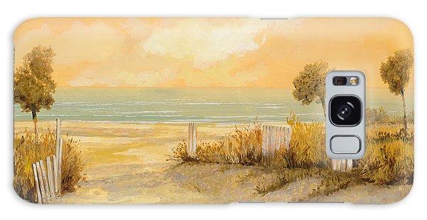 Sand Galaxy Case - Verso La Spiaggia by Guido Borelli