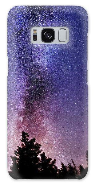 Vertical Milky Way Galaxy Case