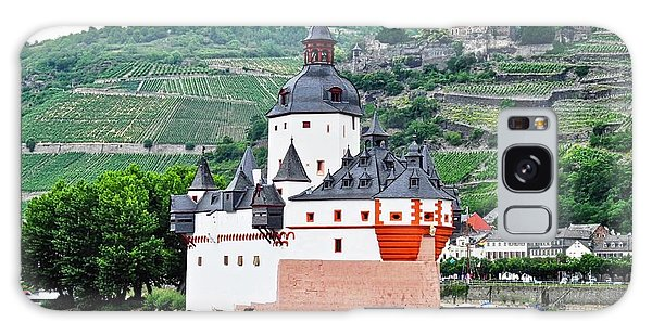Vertical Vineyards And Buildings On The Rhine Galaxy Case