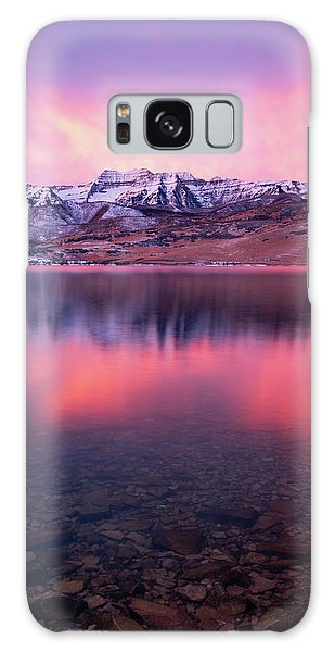 Vertical Winter Timp Reflection. Galaxy Case