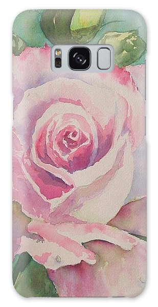 Very Rose  Galaxy Case by Kathy  Karas