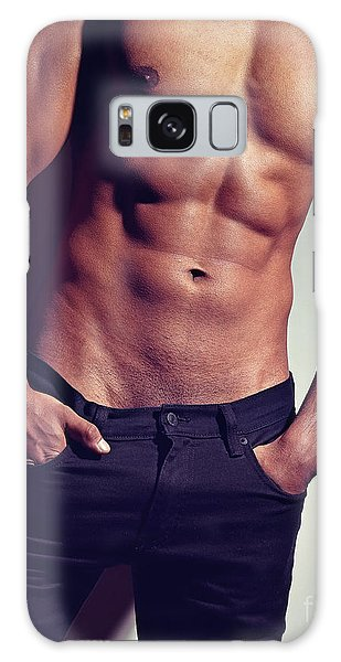 Very Sexy Man With Great Body Galaxy Case