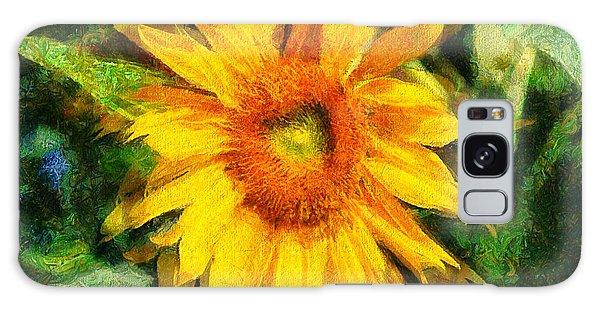 Very Wild Sunflower Galaxy Case