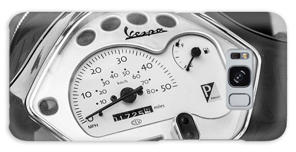 Galaxy Case featuring the photograph Vespa Gauges by SR Green