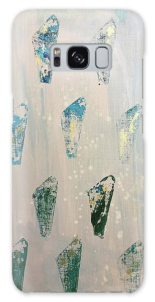 Galaxy Case featuring the painting Vestige by Robin Maria Pedrero
