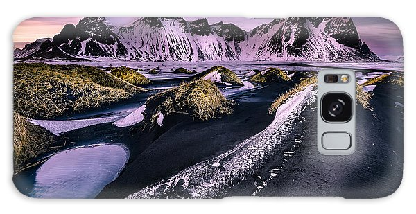 Vestrahorn, South Iceland Galaxy Case