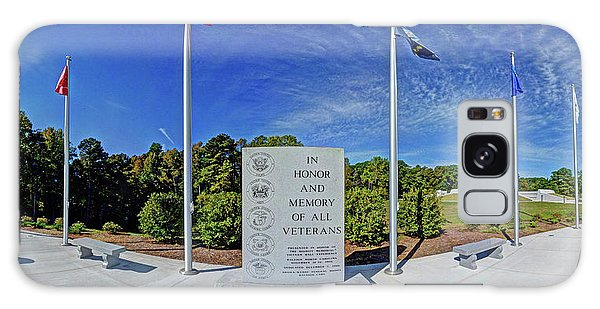 Veterans Freedom Park, Cary Nc. Galaxy Case