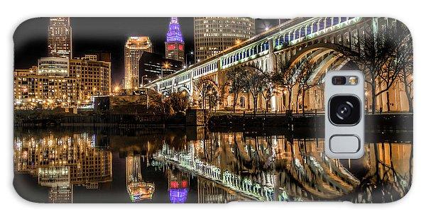 Veterans Memorial Bridge Galaxy Case by Brent Durken