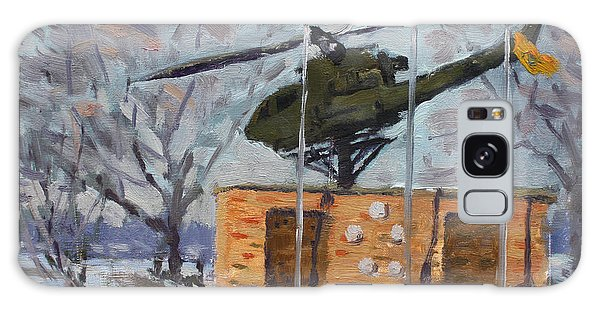 Helicopter Galaxy S8 Case - Veterans Memorial Park In Tonawanda by Ylli Haruni