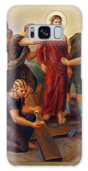 Via Dolorosa - Disrobing Of Christ - 10 Galaxy Case by Svitozar Nenyuk