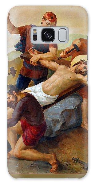 Via Dolorosa - Jesus Is Nailed To The Cross - 11 Galaxy Case