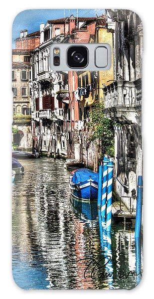 Viale Di Venezia Galaxy Case by Tom Cameron