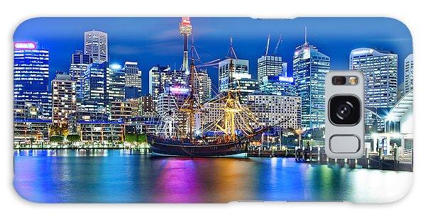 Colours Galaxy Case - Vibrant Darling Harbour by Az Jackson