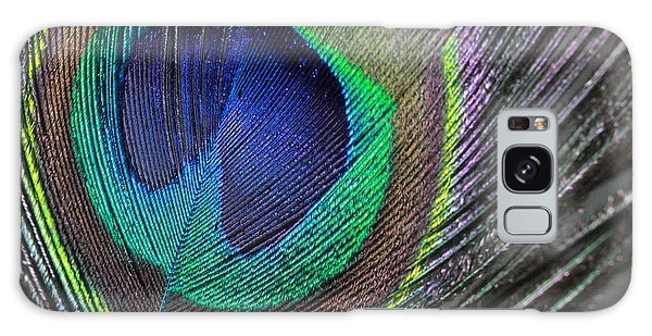 Vibrant Green Feather Galaxy Case
