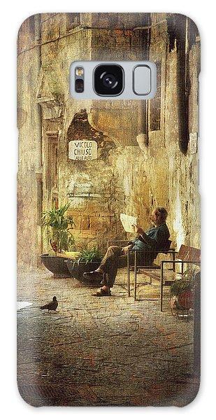 Vicolo Chiuso   Closed Alley Galaxy Case by Vittorio Chiampan