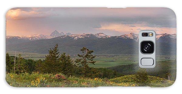 Victor Idaho Sunset Galaxy Case