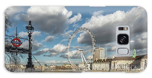 London Eye Galaxy Case - Victoria Embankment by Adrian Evans