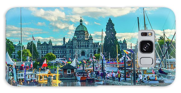 Victoria Harbor Boat Festival Galaxy Case