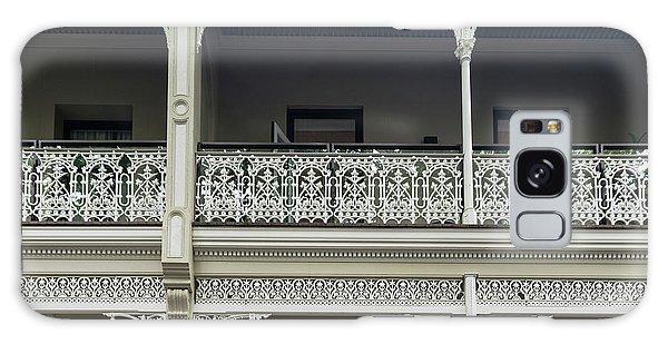 Victoria Street Balcony Galaxy Case