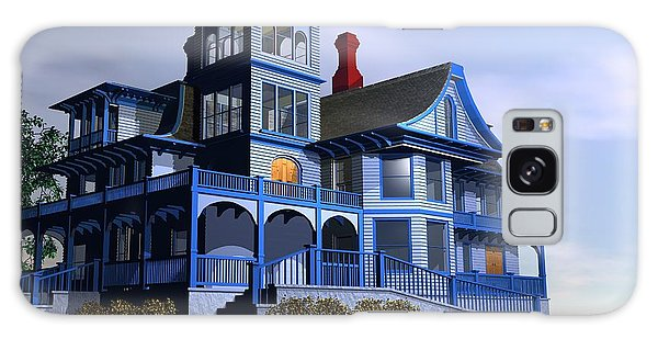 Victorian Cape May Galaxy Case by John Pangia