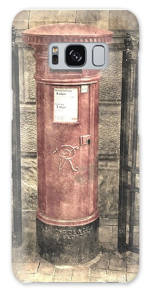 Victorian Red Post Box Galaxy Case