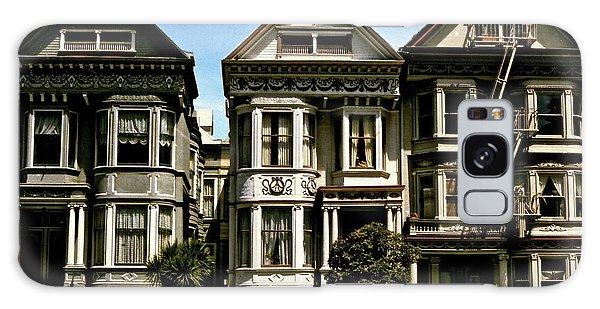 Victorian San Francisco Galaxy Case by Ira Shander