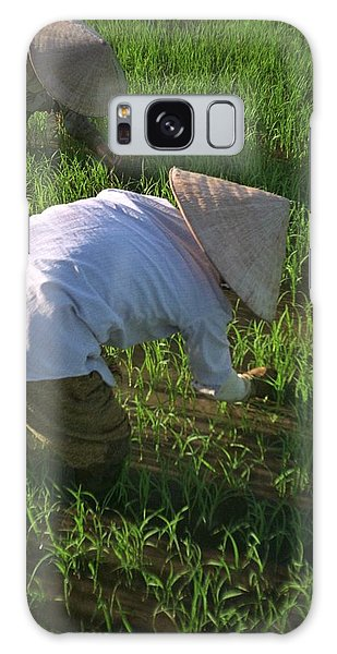 Vietnam Paddy Fields Galaxy Case