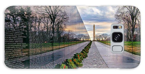 Vietnam War Memorial, Washington, Dc, Usa Galaxy Case