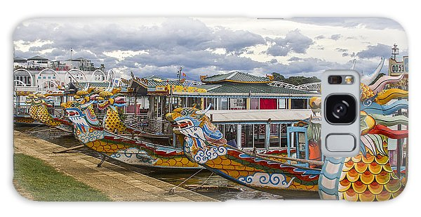 Vietnamese Dragon Boats Galaxy Case