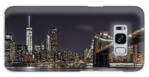 View From Brooklyn Bridge Park Galaxy Case