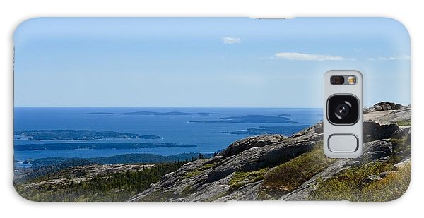 View From Cadillac Mountain Galaxy Case