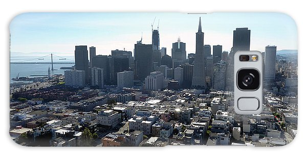 View From Coit Tower Galaxy Case