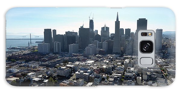 View From Coit Tower Galaxy Case by Steven Spak
