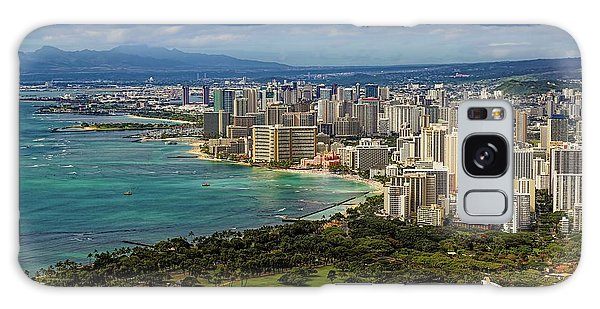 View From Diamond Head Galaxy Case