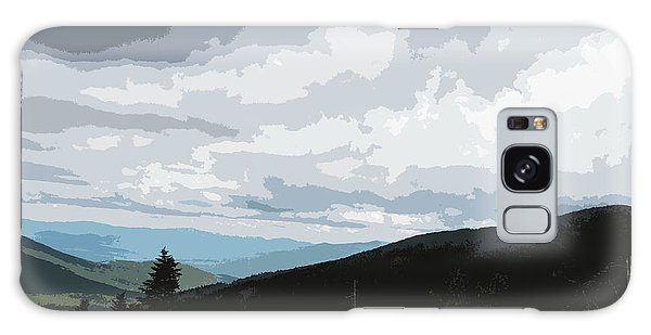 View From Mount Washington II Galaxy Case by Suzanne Gaff